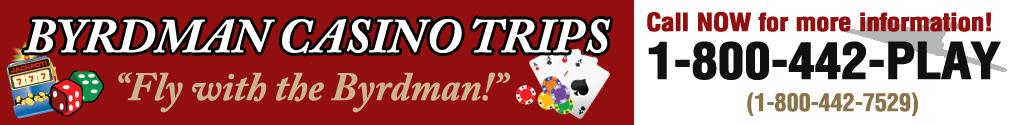 Byrdman Casino Trips, LLC Logo